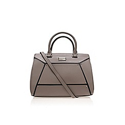 Nine West - Grey 'Nailed it' satchel handbag