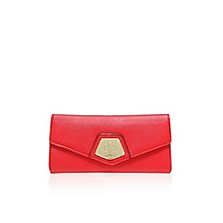 Nine West - Red 'Rocklock contntl' clutch bag