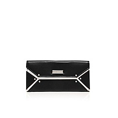 Nine West - Black/ white 'Nailed it' clutch bag