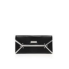 Nine West - Black/ white 'Nailed it' clutch bag