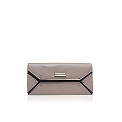 Nine West - Grey 'Nailed it' clutch bag