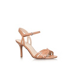 Nine West - Nude 'Gardenia' high heel strappy sandal
