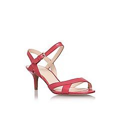 Nine West - Pink 'Genevra' mid heel sandal