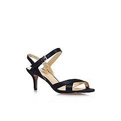 Nine West - Black 'Genevra2' high heel strappy sandal