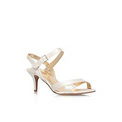 Nine West - Bone 'Genevra2' high heel strappy sandal