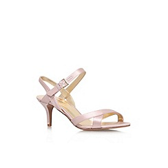Nine West - Pale pink 'Genevra2' high heel strappy sandal