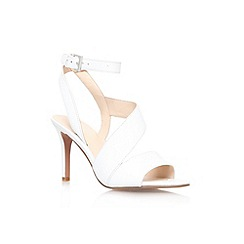 Nine West - White 'Ibby' high heel strappy sandal