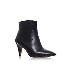 Nine West - Black 'Jessepia' high heel pointed toe ankle boot