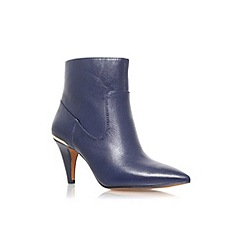 Nine West - Navy 'Jessepia' high heel ankle boot