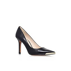 Nine West - Black 'Mastic' high heel court shoe