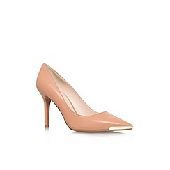 Nine West - Nude 'Mastic' high heel court shoe