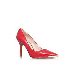 Nine West - Red 'Mastic' high heel court shoe