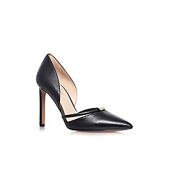 Nine West - Black 'Takeitez' high heel court shoes