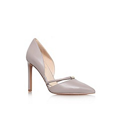 Nine West - Grey 'Takeitez' high heel court shoes