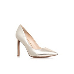 Nine West - Gold 'Tatiana20' high heel court shoes