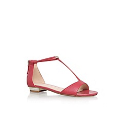 Nine West - Salmon 'Ukie' flat t-bar sandal