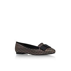 Carvela - Bronze 'Matilda' flat slip on court shoe