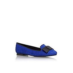 Carvela - Blue 'Matilda' flat slip on court shoe