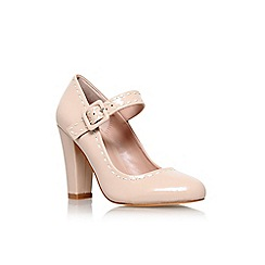 Carvela - Nude 'Karis' high heel court shoe