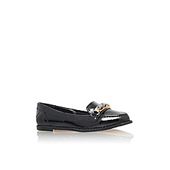 Carvela - Black 'Martha' flat slip on loafer
