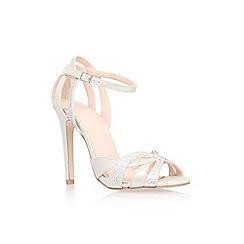 Carvela - Silver 'Lana' high heel sandal