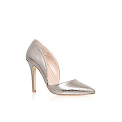 Carvela - Pewter 'Lexi' high heel court shoe