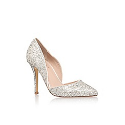 Carvela - Silver 'Lexi' high heel court shoe