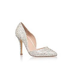 Carvela - Silver 'Lexi' high heel court shoe