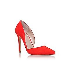 Carvela - Orange 'Lexi' high heel court shoe