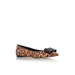 Carvela - Tan 'March' flat slip on court shoe