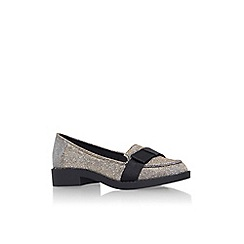 Carvela - Bronze 'Mason' flat slip on loafer