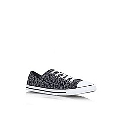 Converse - Black/other 'Ct daintyanml lw' flat lace up low top sneaker