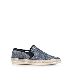 KG Kurt Geiger - Black 'Lara' flat slip on casual shoe
