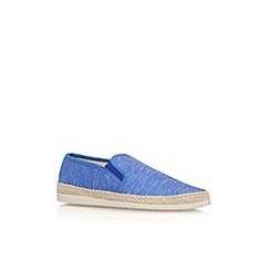 KG Kurt Geiger - Blue 'Lara' flat slip on casual shoe