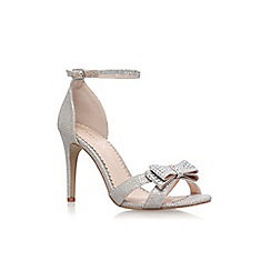 Carvela - Silver 'Lianna' high heel sandals