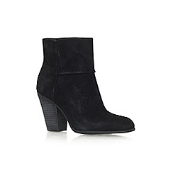 Nine West - Black 'Hollie' high chunky heel ankle boot