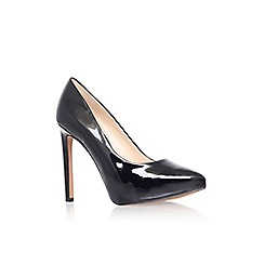 Nine West - Black 'Leapafaith3' high heel court shoe