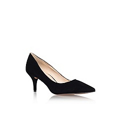 Nine West - Black 'Margot9' mid heel court shoe