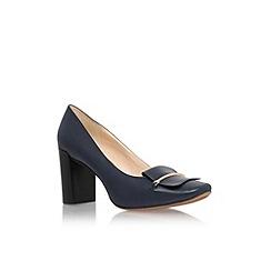 Nine West - Navy 'Newgyrl' mid heel court shoe