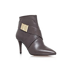Nine West - Grey 'Palencia' high heel ankle boot