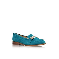 Nine West - Teal 'Townhall' flat slip on loafer