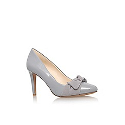 Nine West - Grey 'Hennight3' high heel court shoe