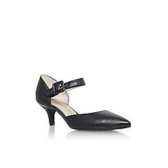 Anne Klein - Black 'Finale2' low heel court shoe