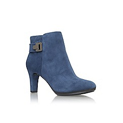 Anne Klein - Navy 'Stefica' high heel ankle boot