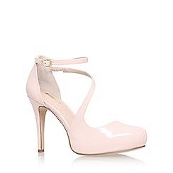 Carvela - Pink 'antler' high heel sandal