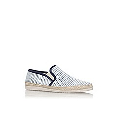 KG Kurt Geiger - Blue 'Ainsley1' flat slip on sneakers