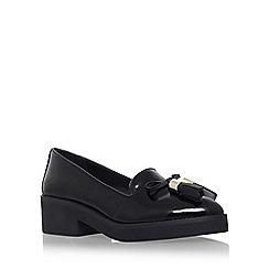 Carvela - Black 'Lava' flat slip on loafer