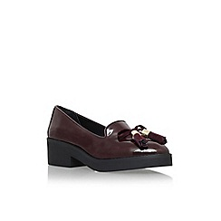 Carvela - Wine 'Lava' flat slip on loafer