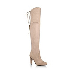 Carvela - Taupe 'sammy' high heel over the knee boot