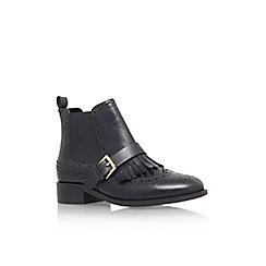 Miss KG - Black 'Stirling' low heel ankle boot